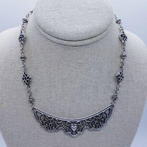 Brighton Collar Choker Heart Necklace